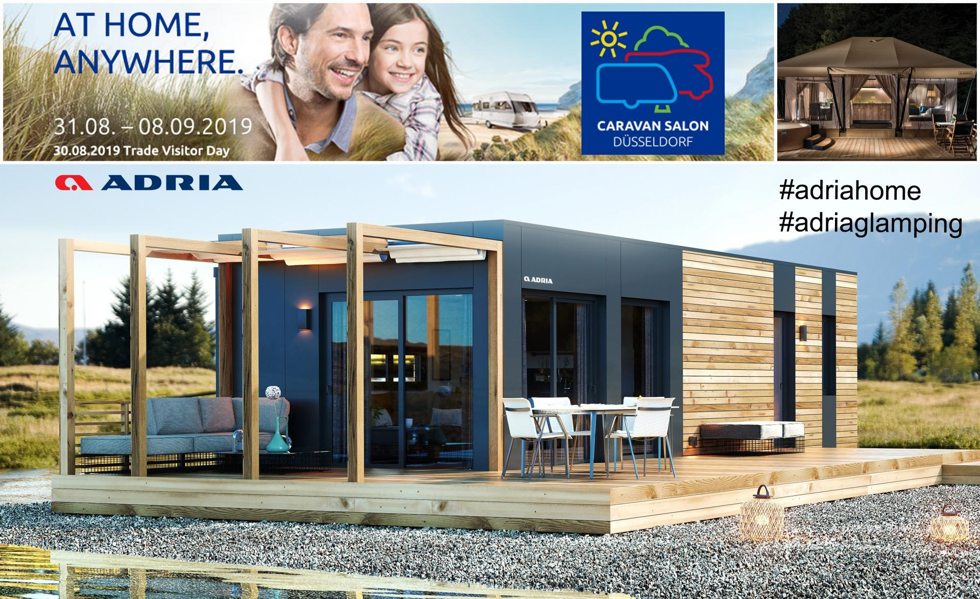 Adria Home at Caravan Salon 2019